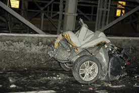 boozy williamsburg bridge crash cut woman u0027s body in half ny