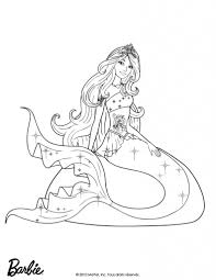 mermaid barbie coloring pages qlyview com