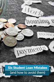 Discover Card Personal Loan Invitation Six Student Loan Debt Mistakes And How To Avoid Them
