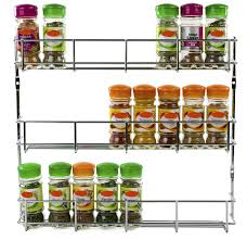 Herb Shelf Andrew James 4 Tier Spice Herb Rack Wall Mountable Or Kitchen