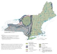 New England States Map by Ha 730 M Regional Summary Text