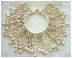 beaded collar necklace jewelry images 3087 best pearl jewelry images pearl jewelry jpg