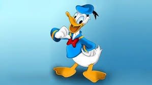 wallpaper for desktop of cartoons characters from donald duck cartoon driving car duck family hd