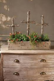 Rustic Easter Decorations Pinterest by Three Crosses On Easter Garden Easter Pinterest Easter