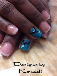 nails design cross beautify themselves with sweet nails