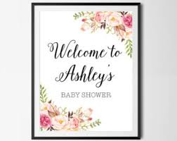 baby shower welcome sign boho baby shower welcome sign bohemian baby shower printable