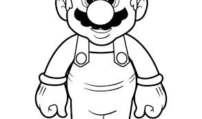 printable super mario bros coloring pages free coloring pages