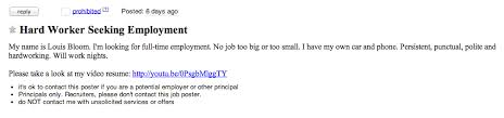 Craigslist Resumes Job Wanted by Jake Gyllenhaal Going Nuts On Craigslist And 5 Other Awesome
