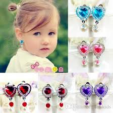 clip on earrings for kids new arrival children s fashion jewelry children s design