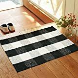 Black And White Checkered Area Rug Amazon Com Plaid Area Rugs Runners U0026 Pads Home Décor Home