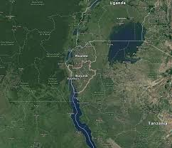 Burundi Map Eastern African Archaeology Online U2014 Burundi Links To Online