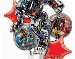 transformers party supplies transformer birthday etsy
