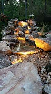 Backyard Ponds And Fountains Best 25 Rock Waterfall Ideas On Pinterest Garden Waterfall