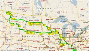 Montana travel maps images Road map of montana and wyoming montana map gif