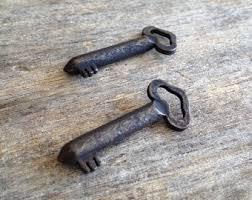 small skeleton key etsy