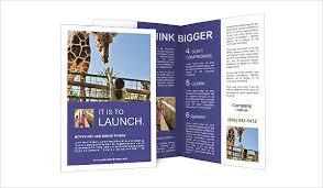 zoo brochure template zoo brochure template zoo brochure 8 printable psd ai indesign