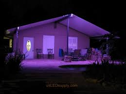 Patio Led Lights Wonderful Led Outside Garage Lights Project Ideas Photos And