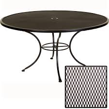 Ow Lee San Cristobal by Ow Lee Standard Mesh 60 Inch Round Dining Table 60 Mu