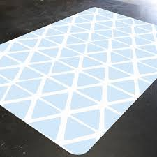 Light Blue Kitchen Rugs Blue Geometric Light Blue Rug Kitchen Rug Kitchen Decor