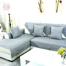 slipcover for sectional sofa dining room trendy l shaped slipcover 14 sectional sofas