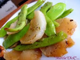 cuisiner des pois gourmands pois gourmands aux navets recette marcia tack