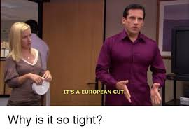 Tight Shirt Meme - it s a european cut why is it so tight the office meme on me me