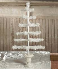 feather tree bethany lowe christmas 26 ivory feather tree in urn