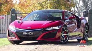 honda supercar honda nsx 2017 review motoring com au