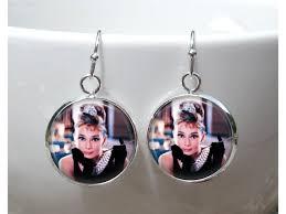 hepburn earrings hepburn earrings breakfast at s earrings
