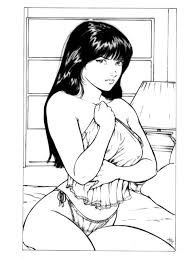 1997 old pin up drawing by daggerpoint on deviantart