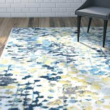 Area Rug Blue Gray And Yellow Area Rug Blue Grey Black Bateshook