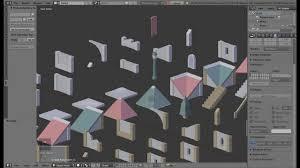 modular building tool demo blender addon youtube