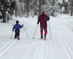 making tracks cross country skiing for seattle area kids and