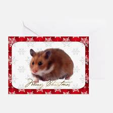hamster christmas greeting cards thank you cards and custom