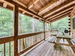 creekside mountain log cabin home vrbo