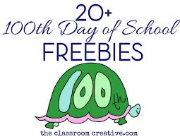 100th day of freebies