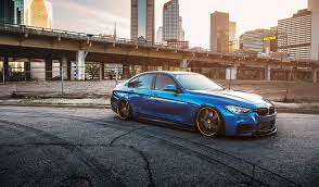 bmw i8 stanced bmw 335i f30 blue frontside stance bmw hd wallpaper