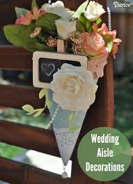 Wedding Aisle Decorations Wedding Aisle Decorations Paper Posy Holders