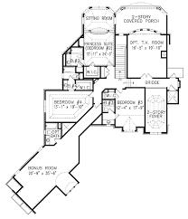 european style house plan 4 beds 4 5 baths 4680 sq ft plan 54