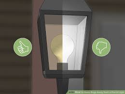porch lights that don t attract bugs how to keep bugs away from a porch light 11 steps with pictures