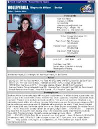 Sample Athletic Resume by Pictures Soccer Player Profile Template Best Games Resource