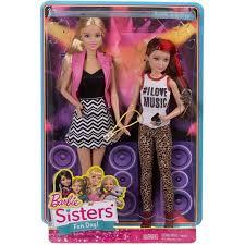 barbie sisters 2 pack barbie skipper dolls walmart