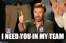 I Need You Meme - i need you in my team chuck norris approves meme on memegen