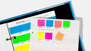 a brilliantly simple solution for organizing pantone color chips