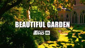 beautiful garden 4k uhd ultra hd 4k resolution digital