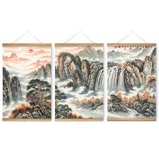 rising sun landscape decoration wall pictures hanging