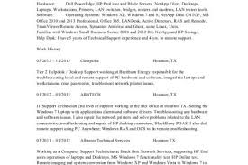 Desktop Support Sample Resume by Support Analyst Resume Reentrycorps
