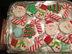 Decorating Christmas Wreath Cookies by Christmas Wreath Cookies Beautiful Decorated Christmas Cookies
