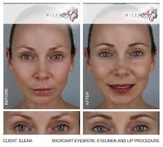 eyeliner tattoo cost semi permanent eyebrows by microart semi permanent makeup
