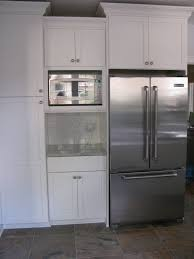 kitchen cabinet microwave built in built in microwave cabinet our fridge and microwave are kitchen